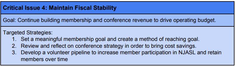 NJASL - Strategic Plan